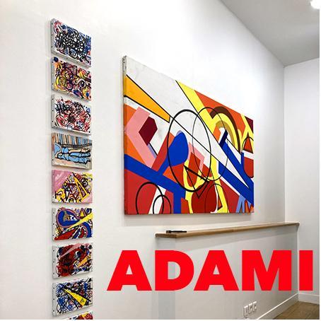 """Exposition """"ADAMI"""" – Galerie COUTERON – Du 19 Janvier au Samedi 27 Février 2021"""